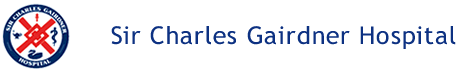Sir Charles Gairdner Hospital Department of Neurosurgery Logo