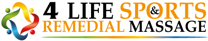 Logo of 4 Life Sports & Remedial Massage